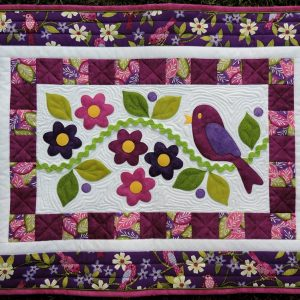 A Little Bird Told Me Table Runner