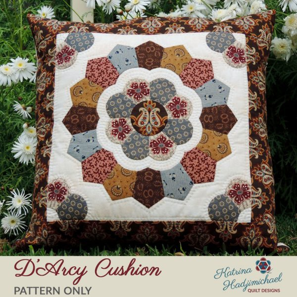 D'arcy Cushion - Pattern Only