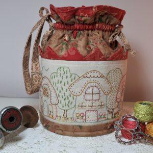 Chawton Village Dilly Bag Pattern
