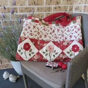 Red Roses Cutting Mat Bag